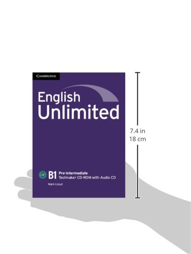 English Unlimited Pre-intermediate Testmaker CD-ROM and Audio CD