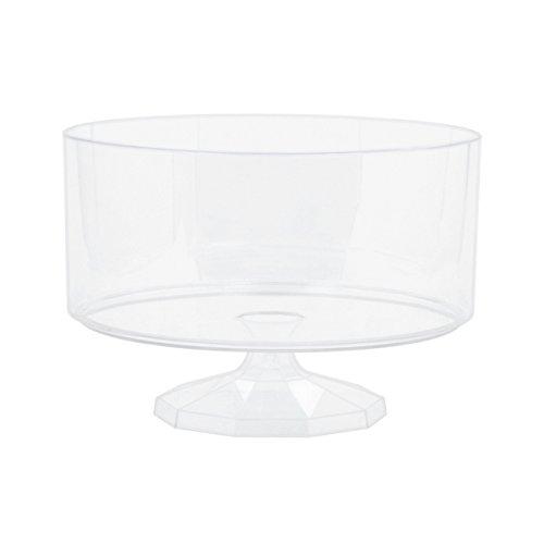 Amscan International Candy Buffet klar Kunststoff Kleine Trüffel Container, 3Stück