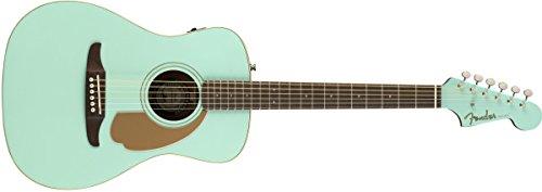 Fender reproductor de Malibu–California Series Guitarra Acústica–Color Azul Splash