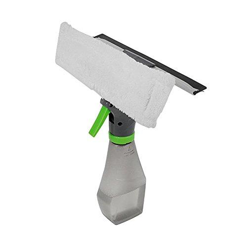 Szdc88 Reinigungsbürste 3-in-1 Hand Fenster Schlitz Fenster Reiniger Mehrzweck Auto mit Sprühflasche für Küche Haushalt