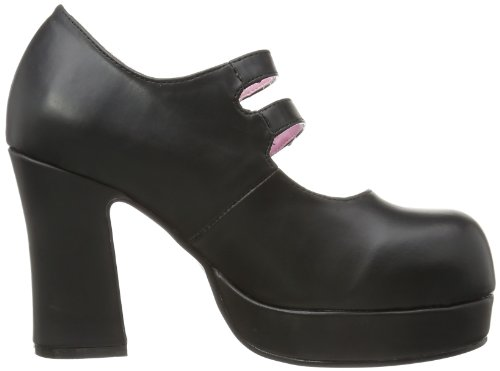 Demonia GOTHIKA-09  Damen Bootschuhe Schwarz (Blk Vegan Leather)