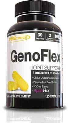 PEScience GenoFlex Joint Support Gelenke Sehnen Knorpel Sort Fitness Bodybuilding 120 Kaspeln -