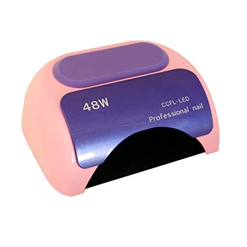 Cris Nails ® Secador de uñas de inducción automático con temporizador CCFL + LED UV...