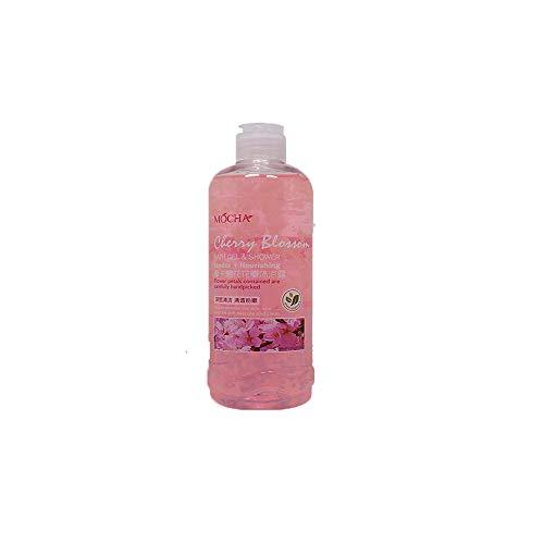 DOUBLED Cherry Blossom Petals Body Feuchtigkeitsspendendes Duschöl für die Feuchtigkeitsversorgung, Ultra-pflegendes, lang anhaltendes Parfüm-Schönheitsbadöl, 500 ml