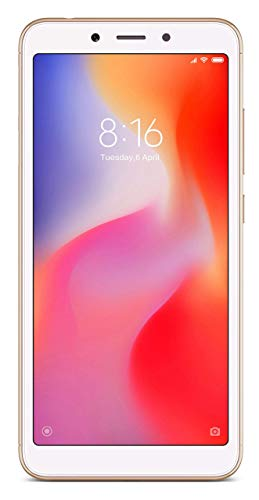 Redmi 6A (Gold, 2GB RAM, 16GB Storage)