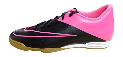 Nike Mercurial Vortex II Ic, Chaussures de Football Homme Noir / rose (noir / noir - hyper rose - hyper rose)
