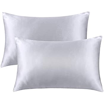Bedsure Pillowcase Set Satin Pillowcases For Hair And Skin