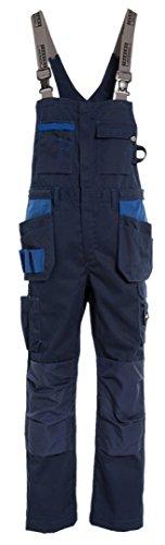 Tranemo Handwerker-Latzhose 'Premium Plus' Größe D96, 1 Stück, marine / royal blau, 3841-50-77-D96