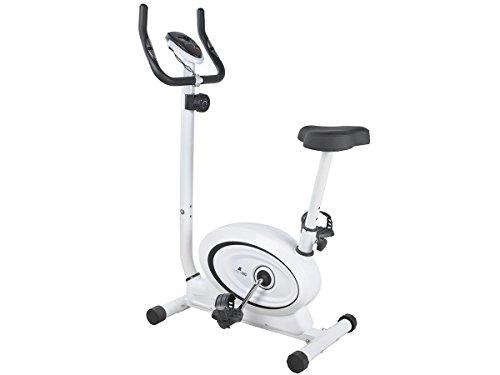 MALATEC Fitnessfahrrad Ergometer Heimtrainer Fitnessbike Puls-Sensor Magnetbremse 4036