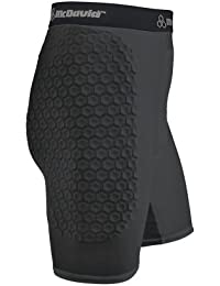 Short de Compression et Protection McDavid Hexpad Sous-vêtements Techniques Thermique - Sport Anti-Impact Rugby Football Ski