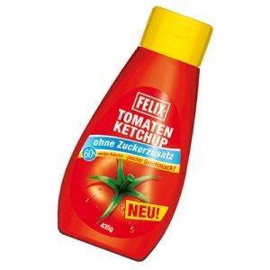 Felix - Ketchup ohne Zuckerzusatz - 435 g