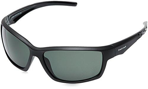 Fastrack UV Protected Wrap-Around Men's Sunglasses (P315GR1|62|Green) image