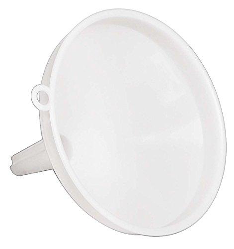 Imbuto Per Travaso In Pp, Mis. Ø 10 Cm, Colore Bianco