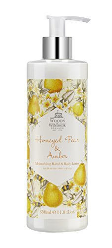 Yardley London Windsor foreste pera Honeyed e Amber idratante a mano e Body Lotion 350 ml