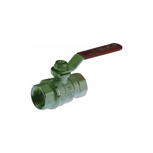 Forged Brass Chrome-Plated Full Port Ball Valve F.I.P-1/8