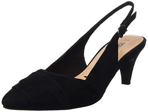 Tamaris Damen 1-1-29616-32 Slingback Ballerinas, Schwarz (Black 1), 40 EU