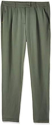 Vero Moda Women's Formal Pants, in Laurel Wreath, Size: 36 EU (Manufacturer Size:Sm