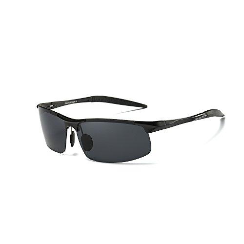 Preisvergleich Produktbild OBOSOE Sportbrille Polarisierte Sonnenbrille TAC HD FahrerbrilleTreiber Glasses Unzerbrechlich für Männer und Frauen für Fahren Motorradfahren Angeln GolfStrand Reisen