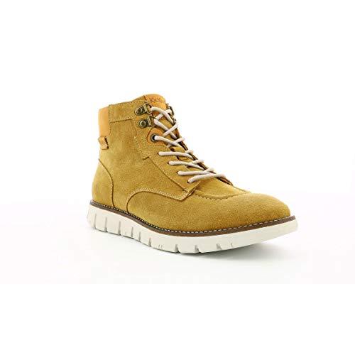 Kicktaina, Sneakers Haute Homme, Camel, 42