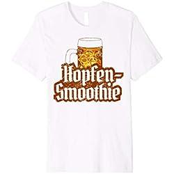 Hopfen Smoothie T-Shirt, Bier und Masskrug Shirt
