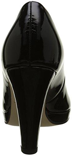 Gabor Shoes Fashion, Scarpe con Plateau Donna Nero (schwarzLFS natur)