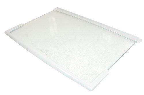 Baumatic Beko Belling Frigidaire Gorenje Smeg Herde Gefrierschrank Glasablage mit weißem Rand Teilenummer des Herstellers: 613187