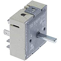 Energieregler 240 V 13 A Einzelkreisdrehung rechts Schaft Ø 6 x 4,6 mm Schaftlänge 23 mm