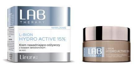 Lirene LAB Therapy L-BION Hydro Active 15% | Nachtcreme