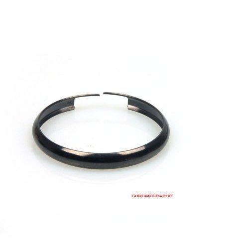 Schlüsselring, Farb Ring, Chromgraphit, Edelstahl (Mini Cooper Ersatzschlüssel)