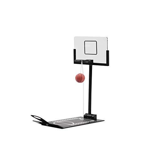 ball Desktop-Basketball Auspacken Spielzeug Dekoration Ornamente Fun Pet Spielzeug (Farbe : Schwarz) ()