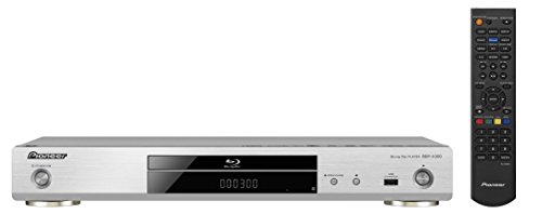 Pioneer BDP-X300-S 3D Blu-ray Disc Player (Ultra HD Upscaling, DLNA, Miracast, WiFi integriert, App Control, BD-Live, GUI in HD) silber