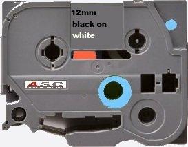 Cassetta Nastro (alternativa) compatibile con Brother - TZ231 / TZ 231 - P-Touch 1000 / 1005 / 1010 / 1090 / 1200 / 1230 / 1260 / 1280 / 1290 / 1750 / 18 R / 1800 / 1830 / 1850 / 1950 / 200 / . . . nero/bianco