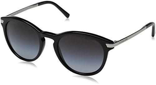 Michael Kors Damen ADRIANNA III 316311 53 Sonnenbrille, Black/Lightgreygradient,