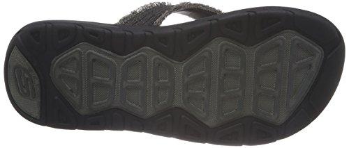 Skechers Supremebosnia, Mules homme Noir (Blk)