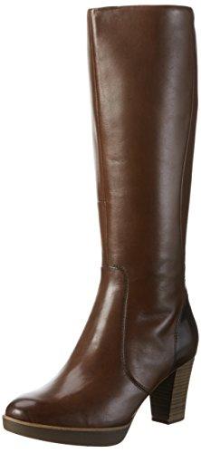 Braune Stiefel Frauen (Tamaris Damen 25524 Langschaft Stiefel, Braun (Muscat 311), 40 EU)