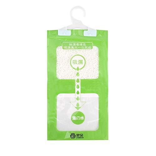 Garderobe hängende Feuchtigkeit Taschen Küche Bad Garderobe Luftentfeuchter Taschen Trockenmittel Hygroskopische Anti-Schimmel-Trockenmittel Tasche - Grün - Sorgen Für Eine Hohe Calcium