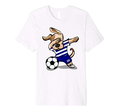 Hund Sanftes Fußball Griechenland Trikot Shirt Griechisch Fussball 2018