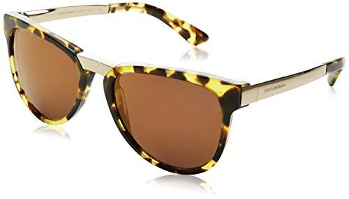 Dolce & Gabbana Unisex Sonnenbrille DG4257, Gr. One size (Herstellergröße: 54), Grün (Green 297071)