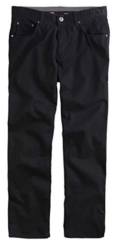JP 1880 Herren große Größen bis 70, Hose, Komfortbund, Regular Fit, Stretch, Baumwolle, 5-Pocket-Form schwarz 33 702614 10-33