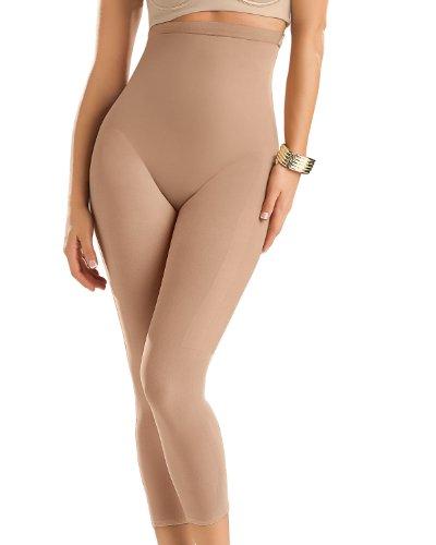 Leonisa Body Faja Pantalón Sin Costuras con Efecto Realce - 852- Beige, S-M