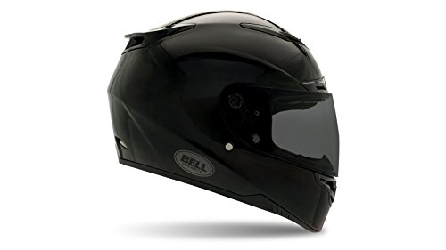 Bell Powersports Casques Street 2015 RS-1 High Visibility Casque pour Adultes, Noir (Black Solid),L