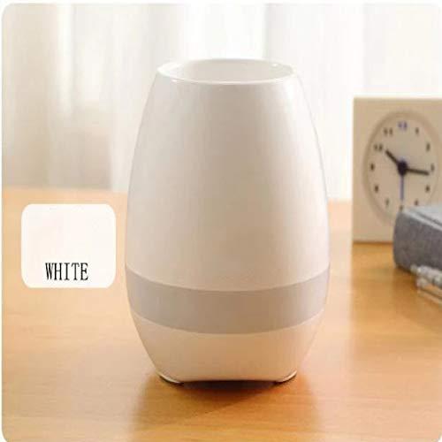 qiyanPortable Smart Bluetooth Haut-Parleur Professionnel Musique de Piano avec LED Micro pour Bureau Maison VIP Lien Étanche Haut-Parleur Portable Haut-Parleur Blanc