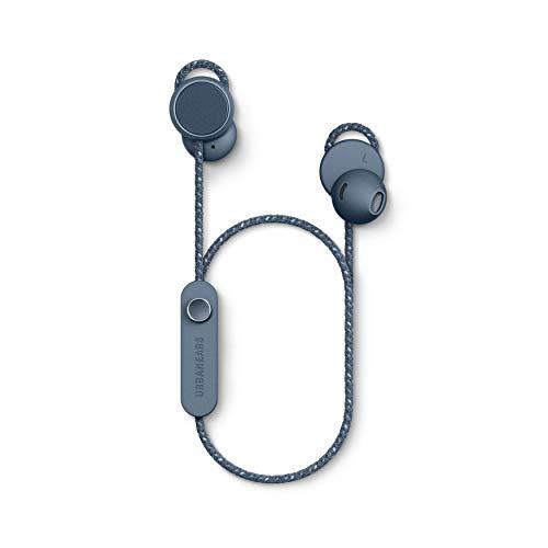 Urbanears Jakan Cuffie Bluetooth Magnetiche, Blu Ardesia