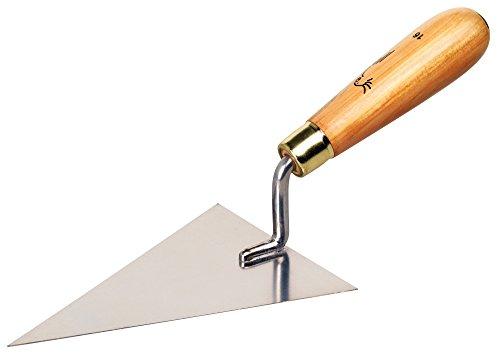 Demi truelle de plâtrier inox Outibat - Dimensions 13 cm