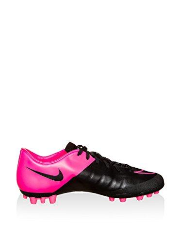 Nike Mercurial Victory V Ag-R Scarpe da calcio allenamento, Uomo nero / fucsia