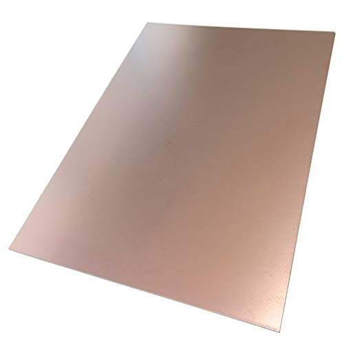 AERZETIX - Platte aus Kupfer für Leiterplatte 297/210/0,8 mm 35 µm Epoxidharz C40728