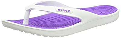 Ladies White Pink Eva Toe Post Flip Flop Surf Sandals New Summer Flat Beach Shoe : everything 5 pounds (or less!)