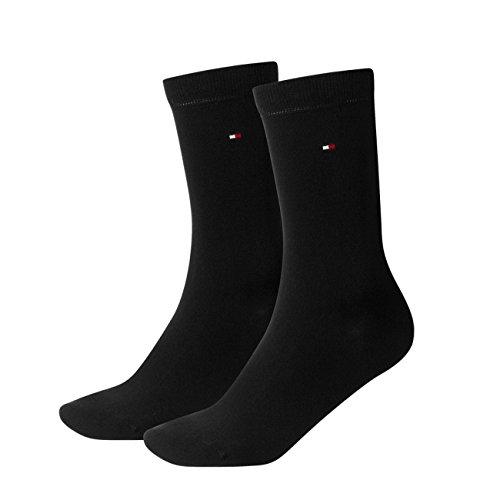 Tommy Hilfiger Damen Socken Casual 8er Pack, Größe:35-38;Farbe:black