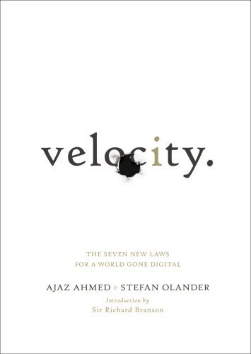 Portada del libro Velocity: The Seven New Laws for a World Gone Digital by Ajaz Ahmed (2012-05-05)
