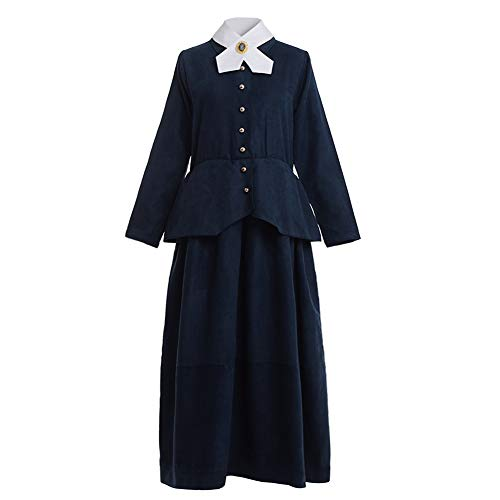 GRACEART Vikorianisches Kindermädchen Mary Poppins Kostüm Erwachsene Kostüm (XL) (Mary Poppins Kostüm Für Erwachsene)